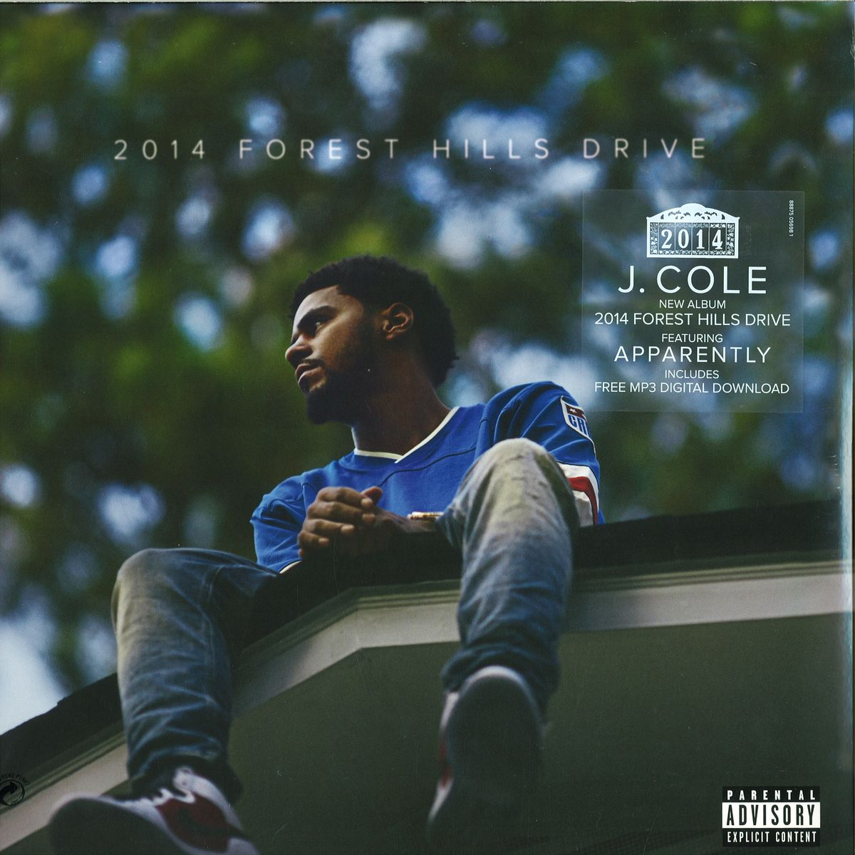 J Cole 4 Your Eyez Only Aaa Recordings Vinyl Record