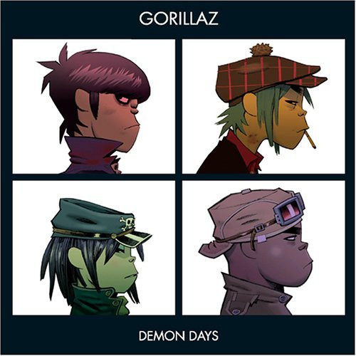 GORILLAZ - AAA RECORDINGS DEMON DAYS