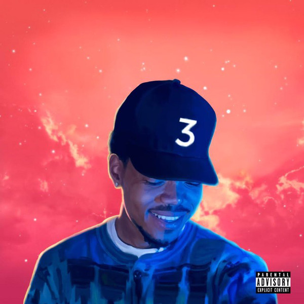 CHANCE THE RAPPER - AAA RECORDINGS COLORING BOOK