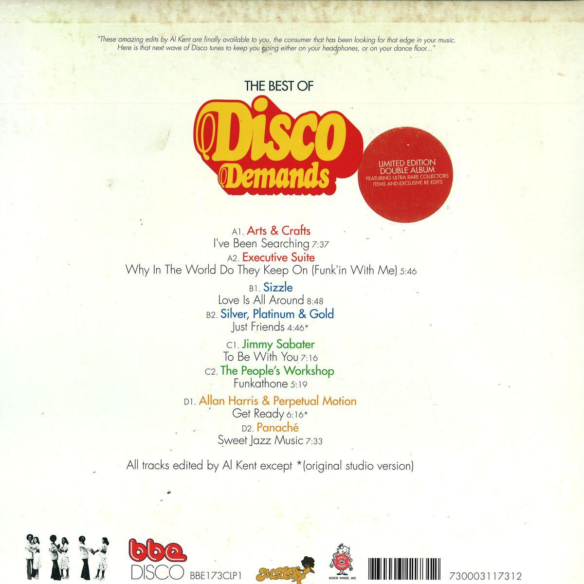 (P1) The Best Of Disco Demands Vol 1 2x12