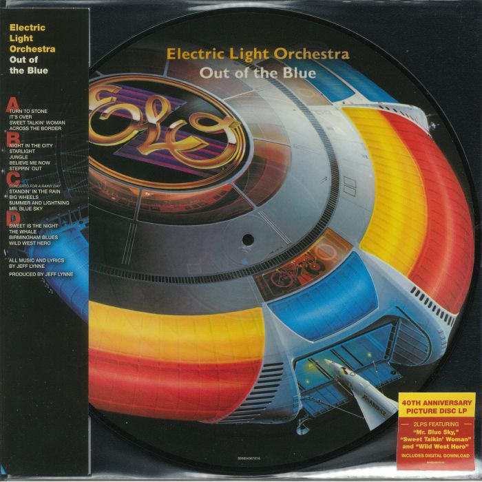 Electric Light Orchestra E L O Pic Out Of The Blue