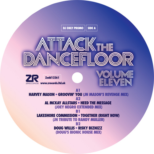 (V11) Attack The Dancefloor Volume Eleven