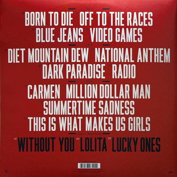 Del Rey Lana Born To Die Polydor Vinyl Record